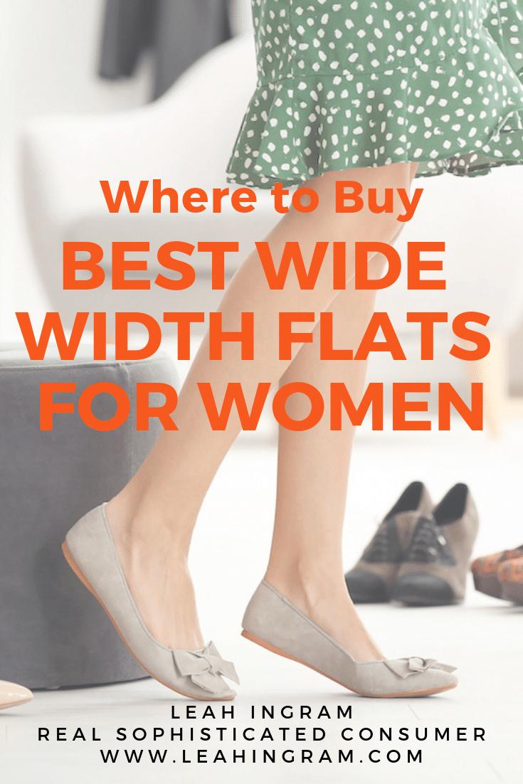 Best Wide Width Shoes for Women - Leah