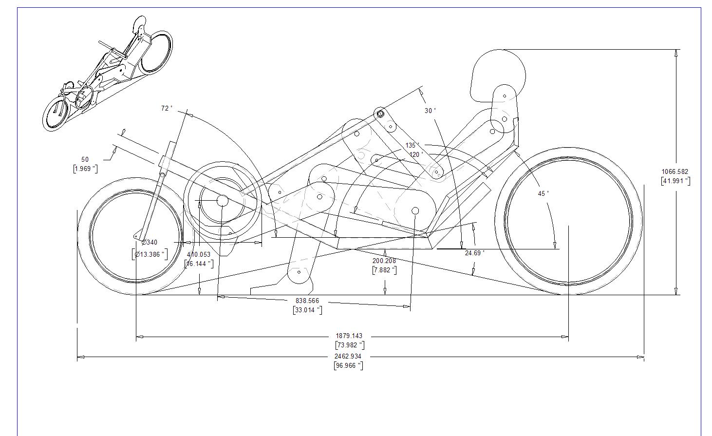 Afbeeldingsresultaat Voor Easy Recumbent Bike Plan