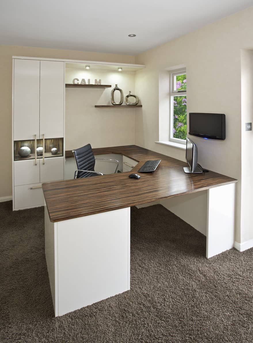 50 Really Great Home Office Ideas (Photos)  Office furniture layout