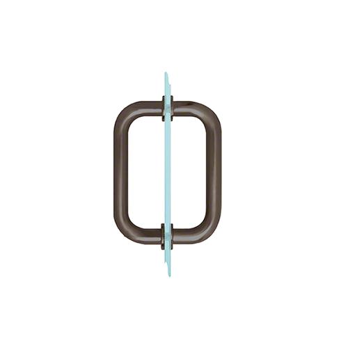 Crl Sdpr60rb Oil Rubbed Bronze 6 Quot Tubular Back To Back 3 4 Quot Diameter Shower Door Pull Handles In 2020 Door Pull Handles Shower Doors Door Pulls