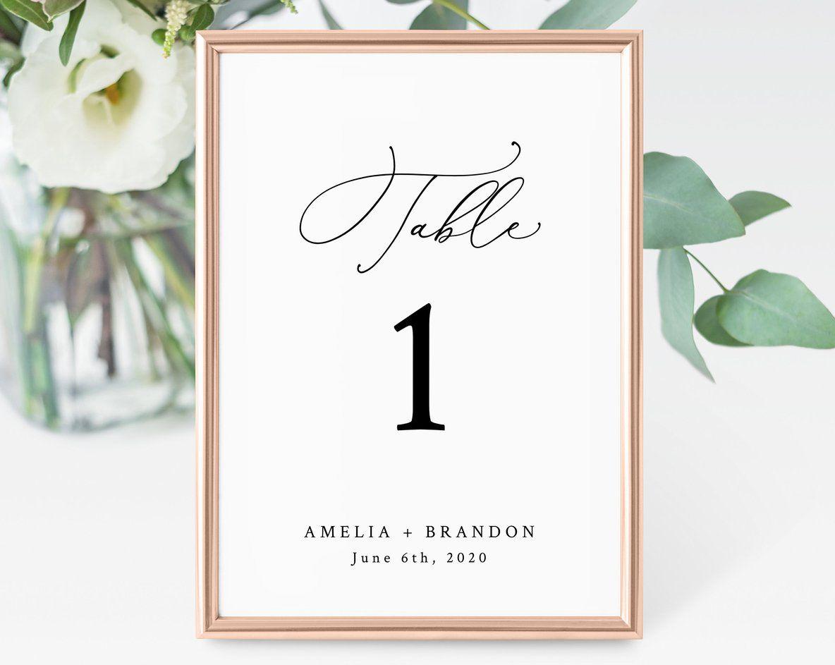 Wedding Table Numbers Template Printable Wedding Table Numbers Wedding Table Number Card Instant Download Templett W30 Wedding Table Numbers Printable Wedding Table Number Cards Wedding Table Numbers Template