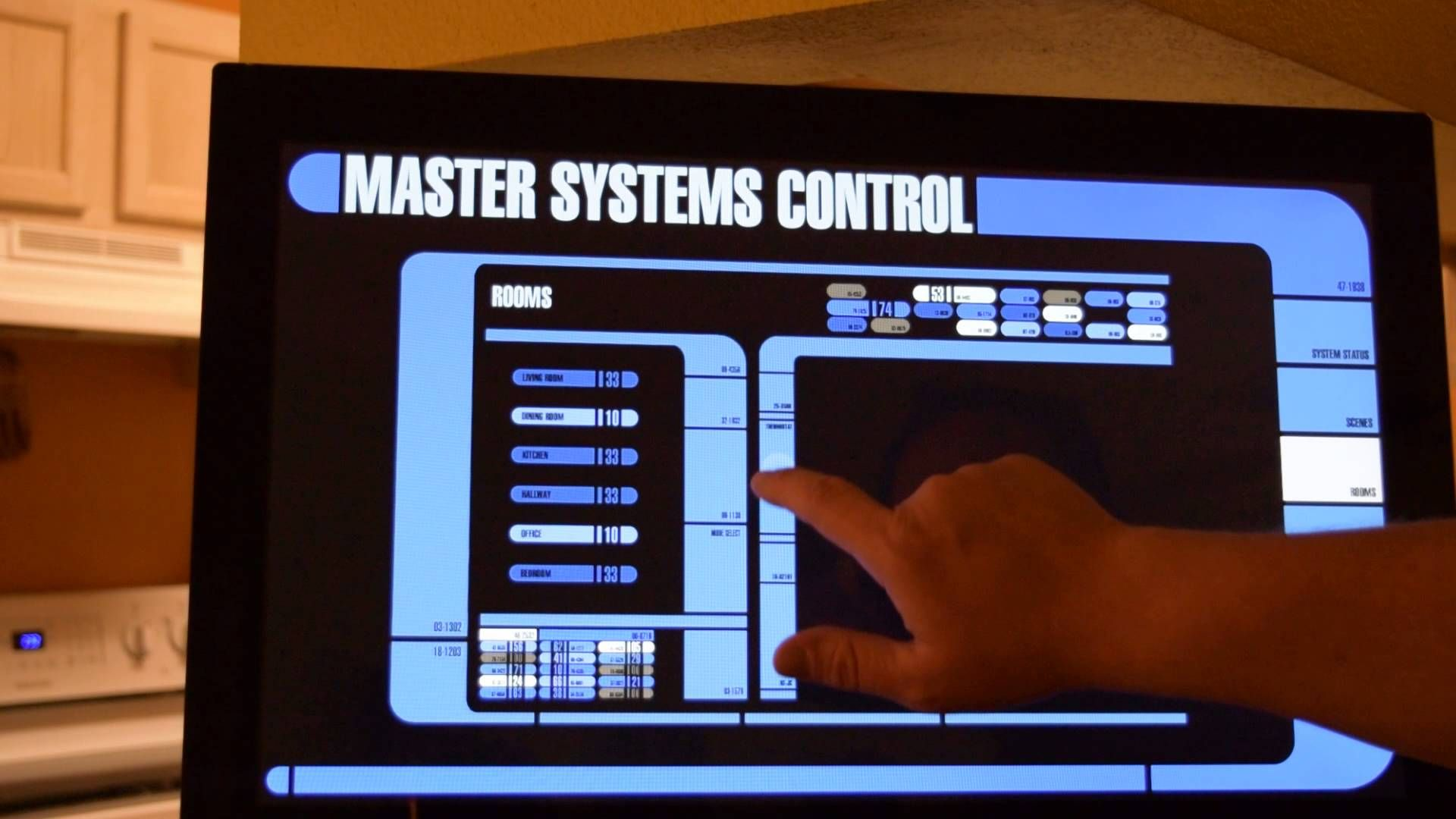 LCARS Home Automation Interface | Star Trek (Everything