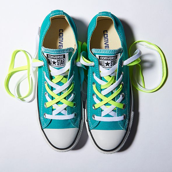 807bc3ab2 Cool Ways to Lace Your Converse Shoes - Double Up