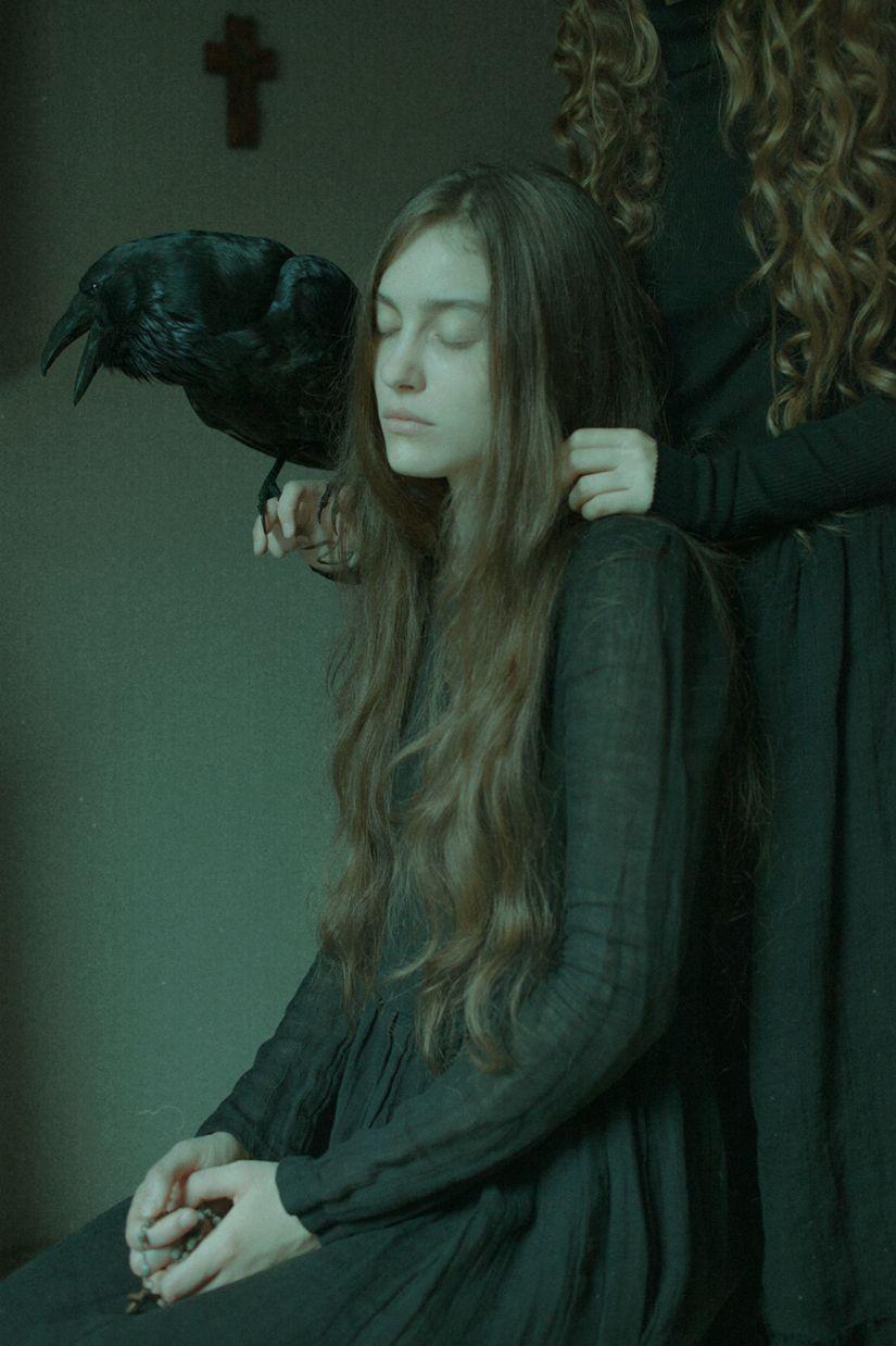 Crows by laura-makabresku.deviantart.com on @DeviantArt