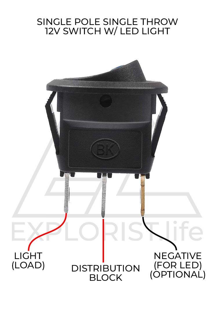 Camper Light Wiring Diagram