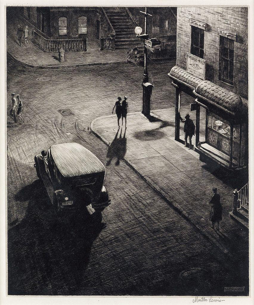 Martin lewis relics speakeasy corner 1928 edward