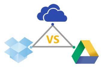 Dropbox vs  Google Drive vs  OneDrive vs  OneDrive for