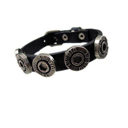 Stylish Leather China Cowhide Metal Bracelets