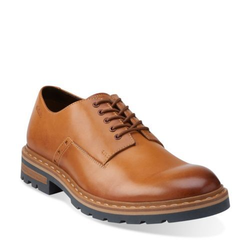 Dargo Walk Tan Leather - Mens Extra Wide Width Shoes - Clarks® Shoes