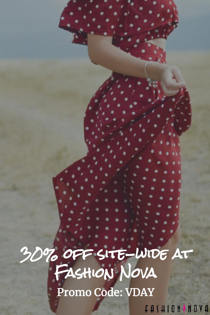 Get 30 Off Site Wide At Fashionnova With Promo Code Vday Fashion Fashion Nova Womens Dresses