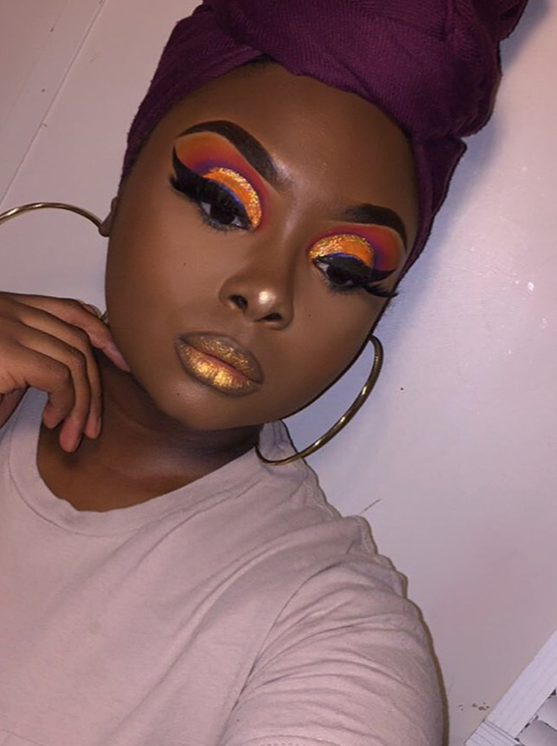 Pin by alana on woc makeup in pinterest makeup looks