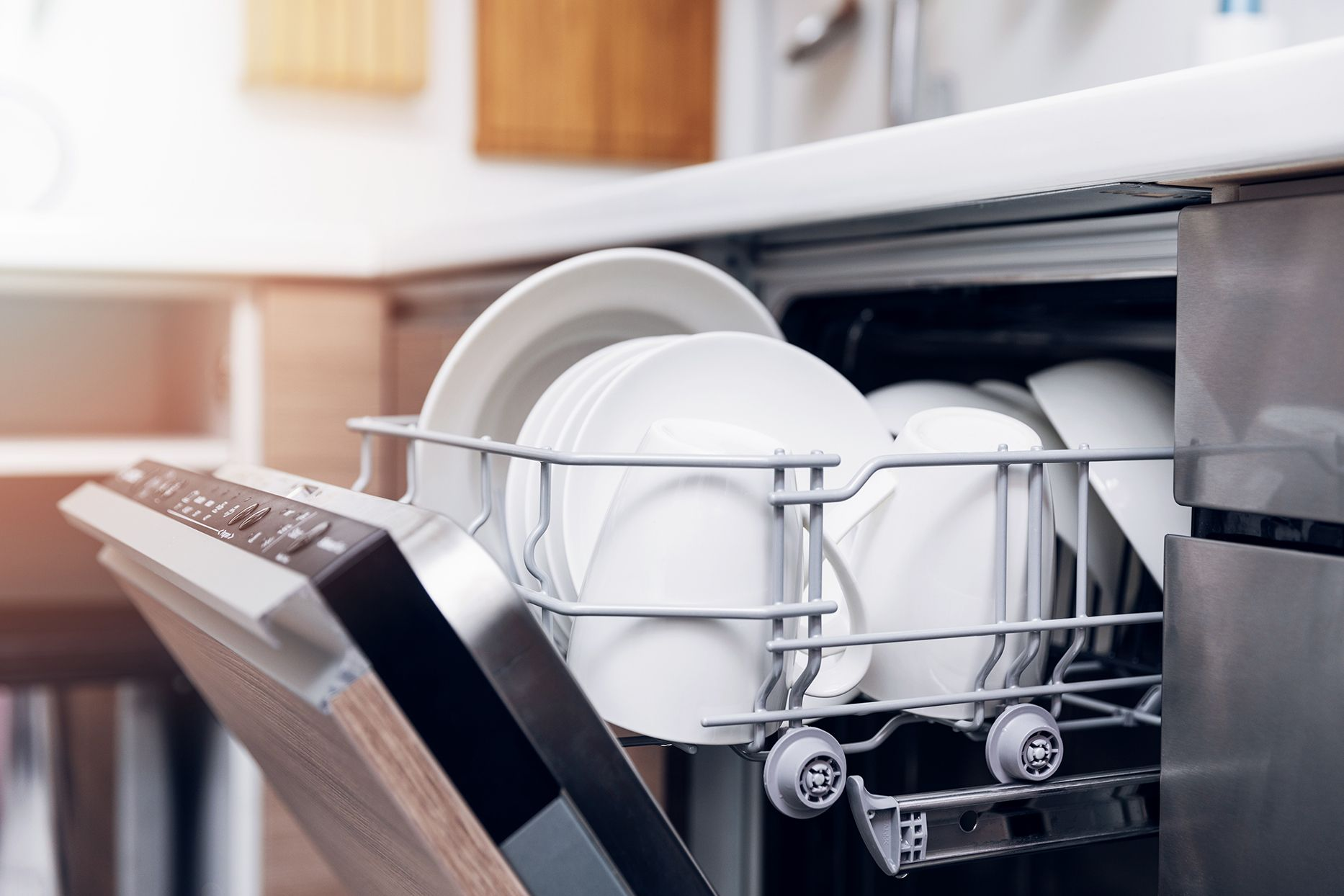 How often should dishes go in the dishwasher kitchenaid