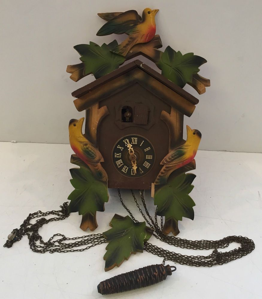 W German Schmeckenbecher Kaiserwalzer 1012 Cuckoo Clock Gm Regular