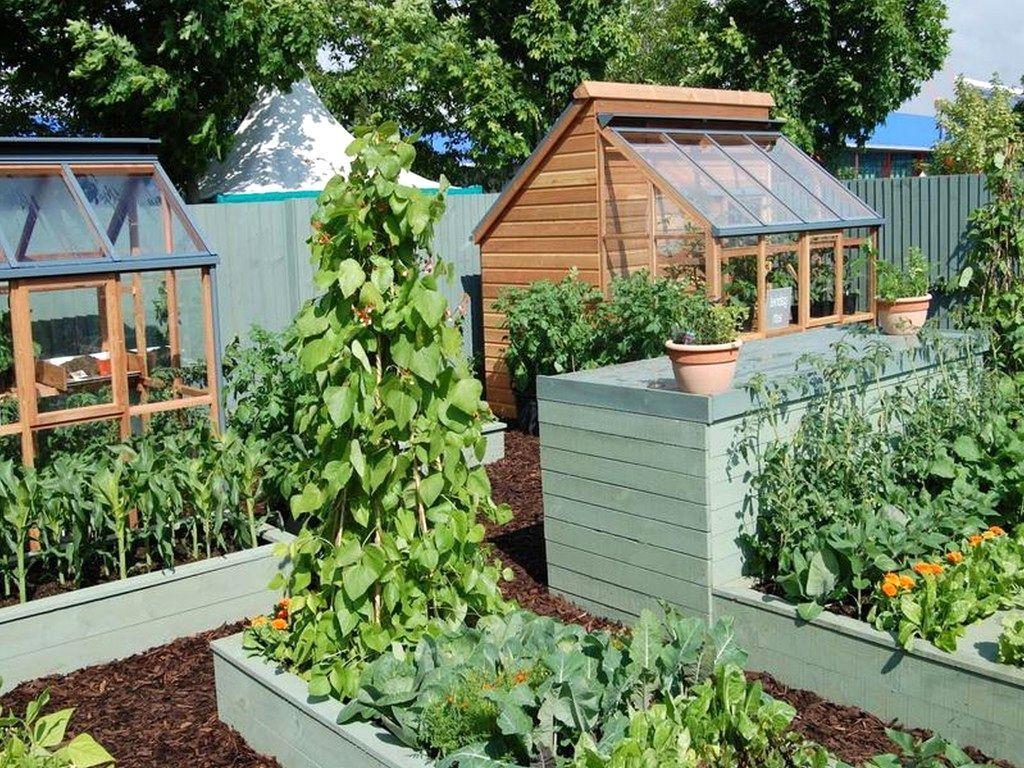 51+ Funky Beautiful Vegetable Garden Ideas Image | Garden ...