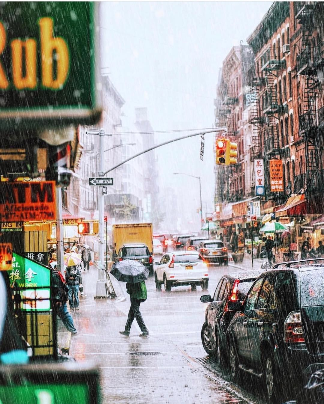 instagram  new york rain new york photography new york art