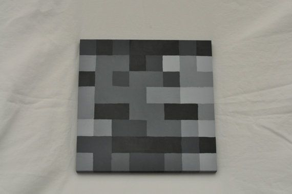 Minecraft Wither Skeleton Board By Minecraftingmama On Etsy 18 00
