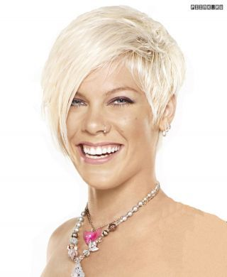 Pink Photo P Nk Pink Singer Hairstyles Pink Haircut Celebrity Short Hair