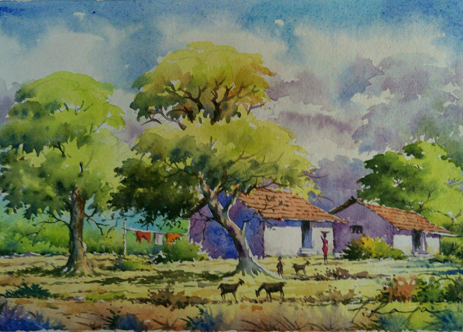 Watercolor Landscapes Watercolor Landscape