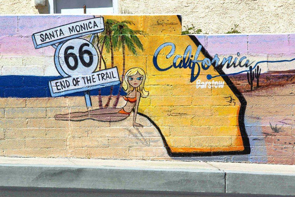 Route 66 Motel Mural - Route 66 Motel | Route 66 | Pinterest | Route ...