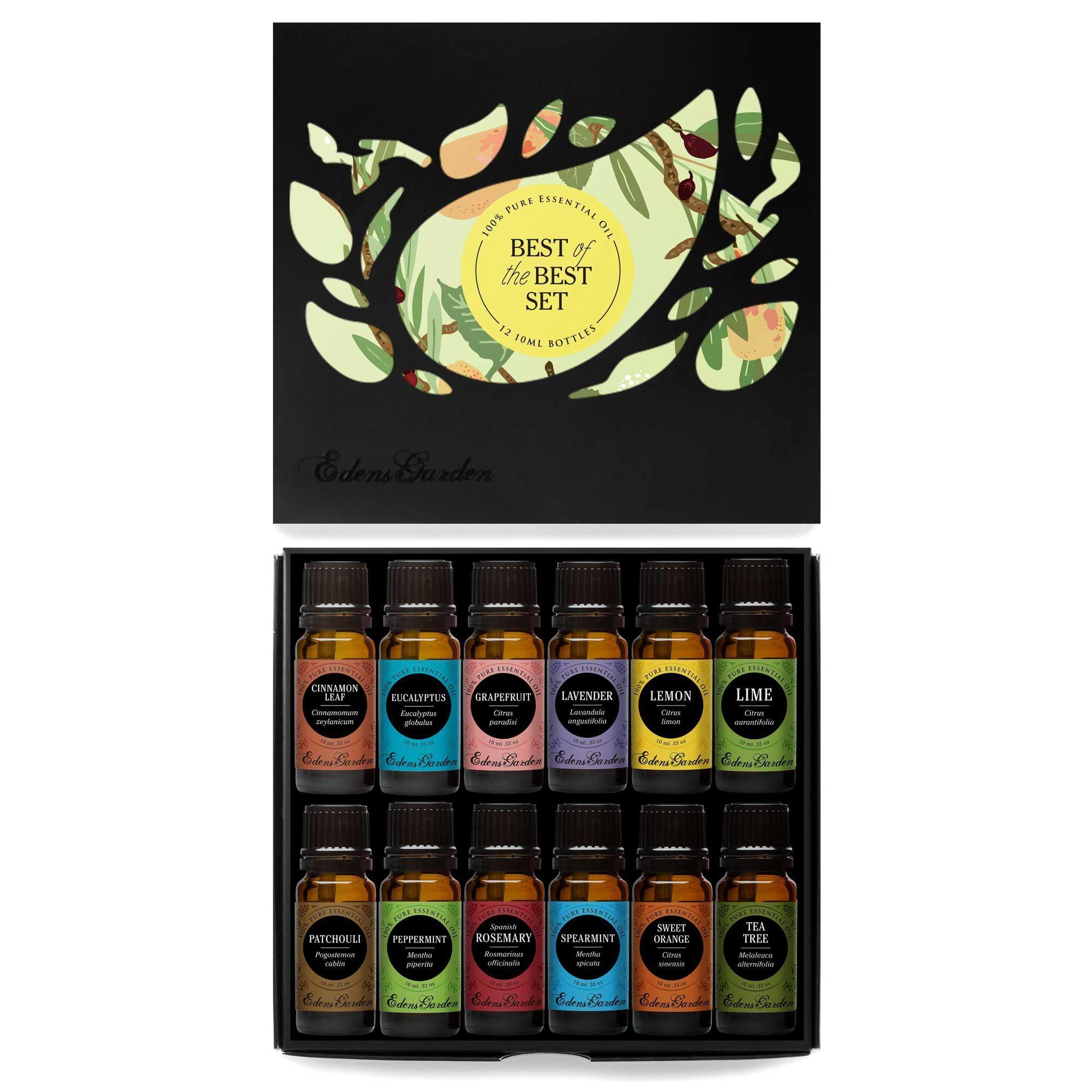 Best of the Best Essential Oil Set Edens garden