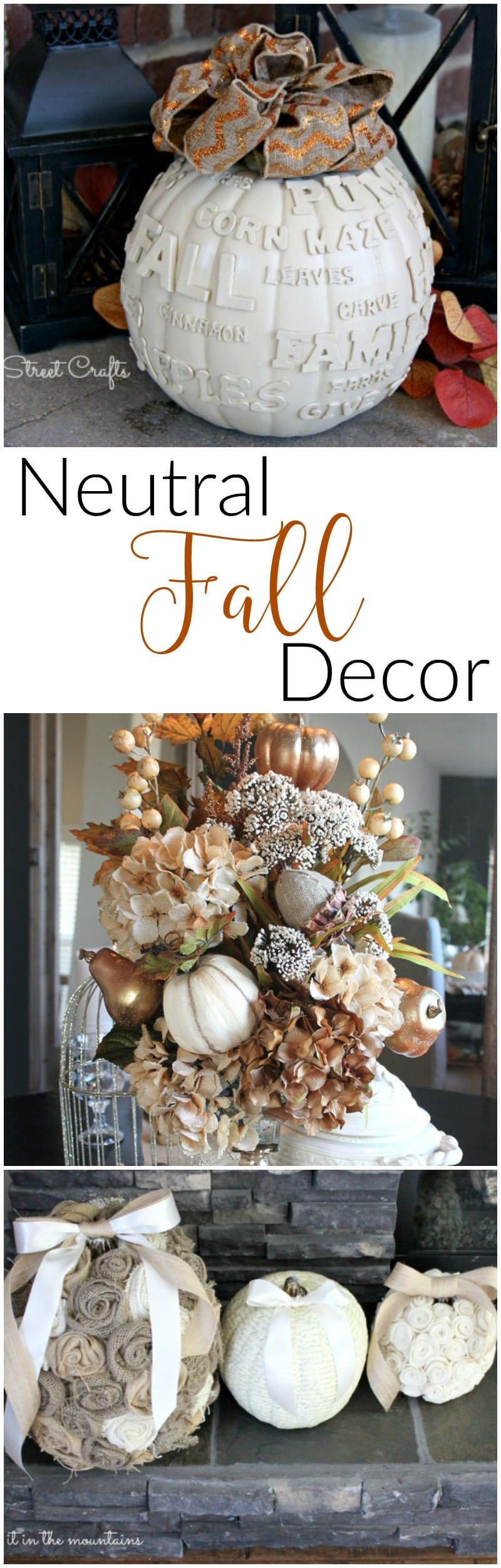 10 Neutral Fall Decor Ideas