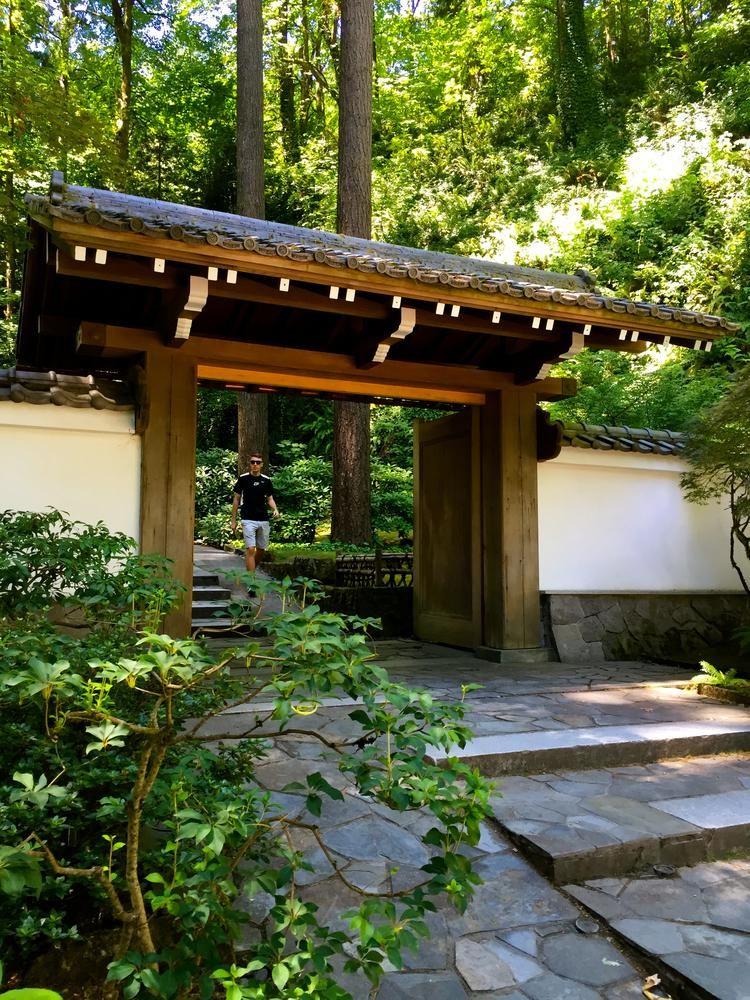 Japanese Garden Gate, Portland, Oregon