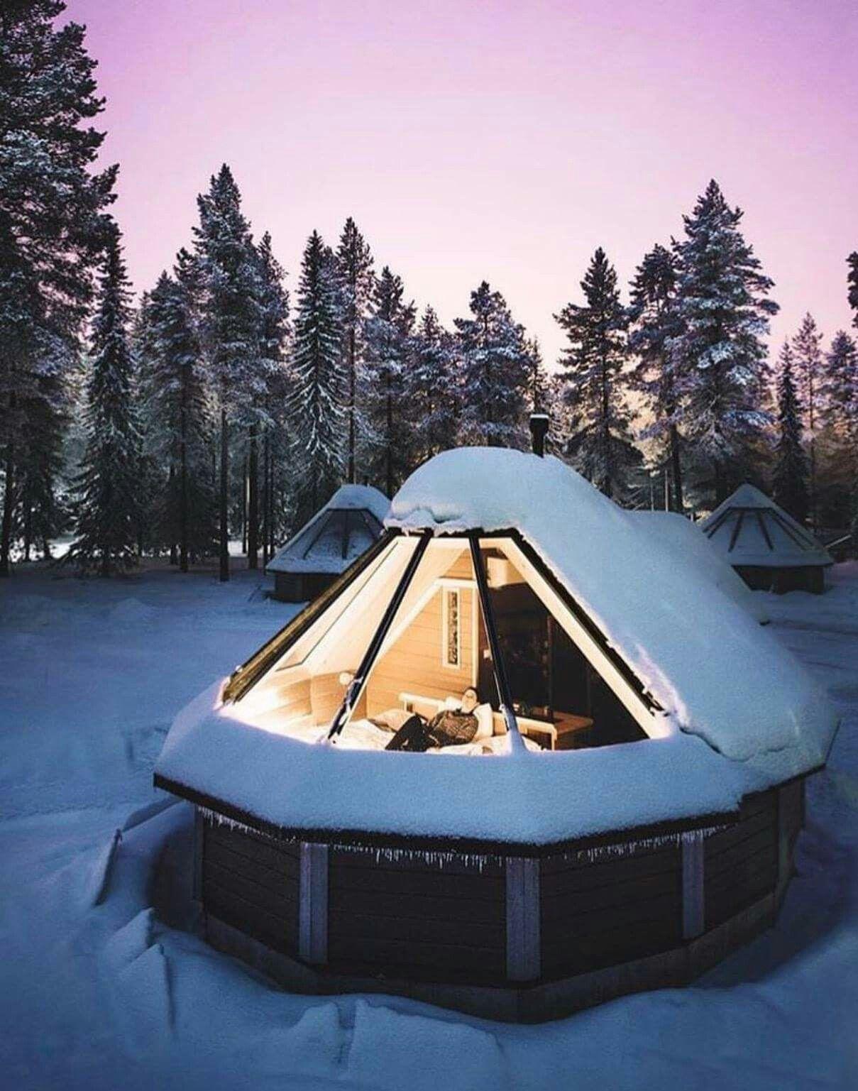 Aurora Cabins Northern Lights Village Finland