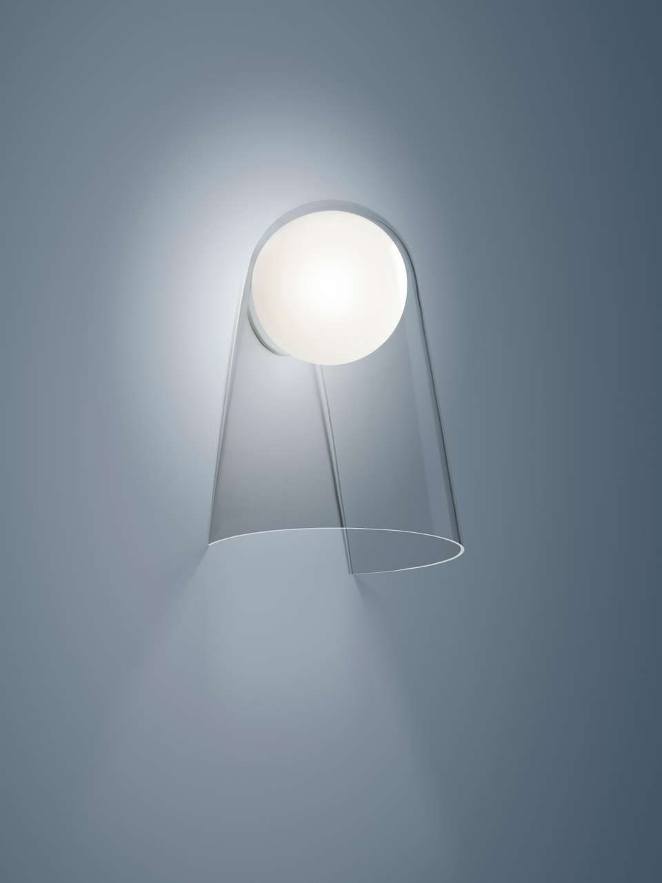 Foscarini Satellight Wall Lamp In White And Transparent By Eugeni Quitllet Wall Lamp Lamp Lamp Design