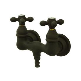 Elements Of Design Vintage Oil Rubbed Bronze 2 Handle Fixed Wall