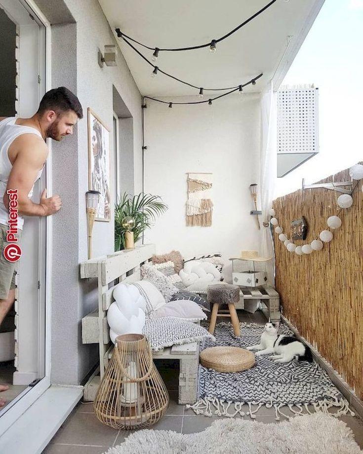 59 Creative Small Balcony Decor Ideas for Best Spring - homeridian.com