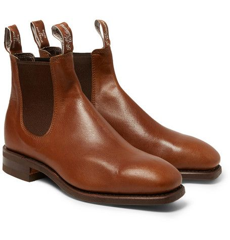 5b1b1b8c0bd4b7 R.M. Williams Kangaroo Leather Chelsea Boots | R M. | Boots, Chelsea ...