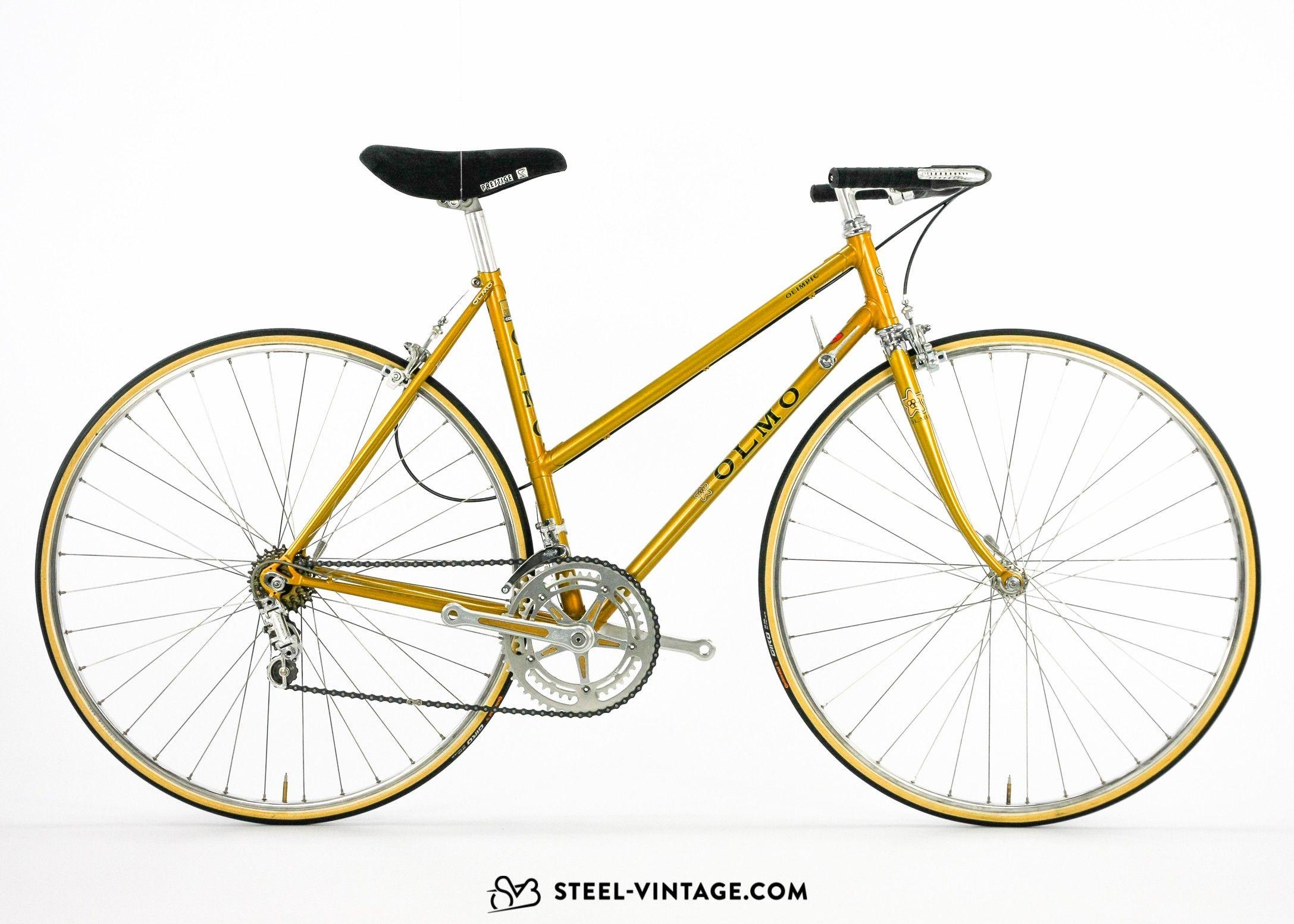 Steel Vintage Bikes Olmo Olimpic Classic Ladies Road Bicycle Road Bicycle Vintage Bikes Bicycle