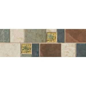 Tile Decorative Accents Daltile Continental Slate 4 Inx 12 Inx 6 Mm Porcelain