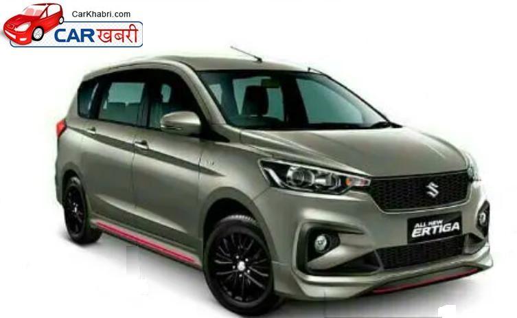 New Modification To Suzuki Ertiga Gt Black Alloys And A Body Kit Added Carkhabri Com In 2020 Body Kit Suzuki Modification