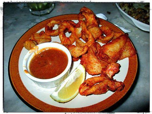 Crunchy Cuban Calamari