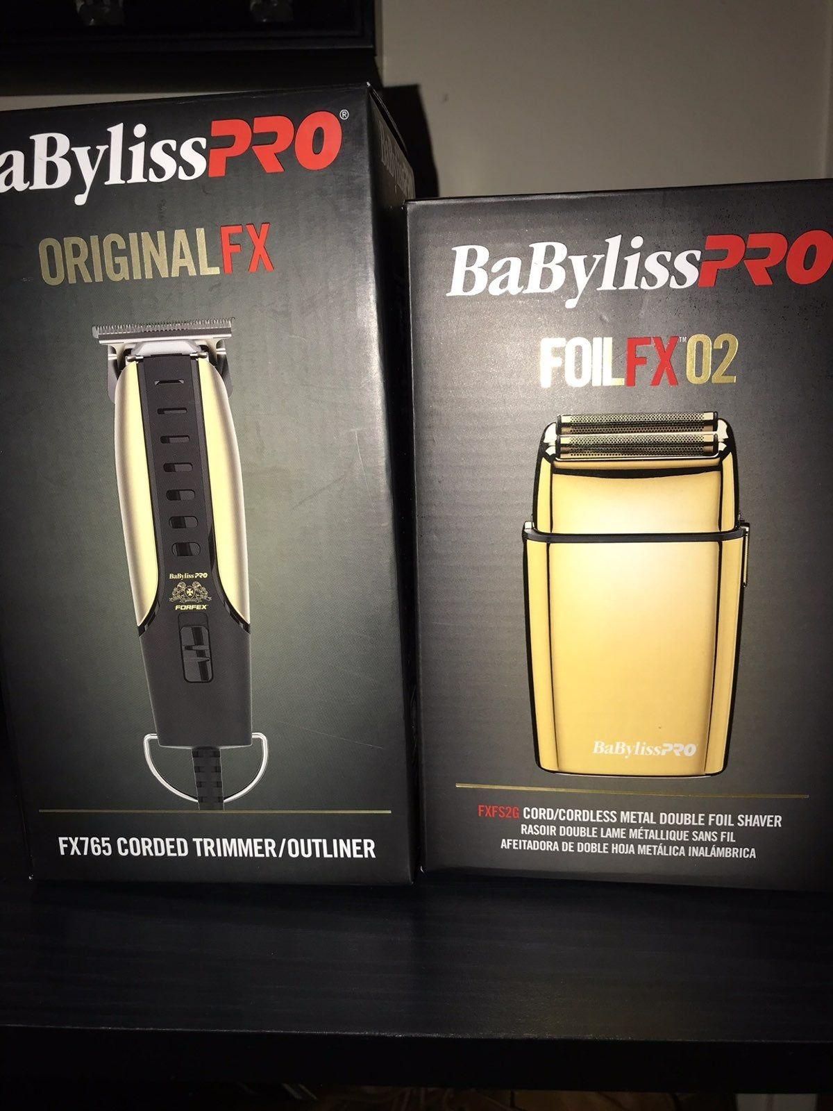 Babyliss pro foil shaver