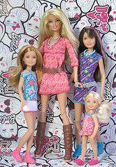 Barbie Skipper Stacie Chelsea Coloring Pages Sok Pa Google Vestido De Barbie Disfraces De Barbie Ropa Para Barbie