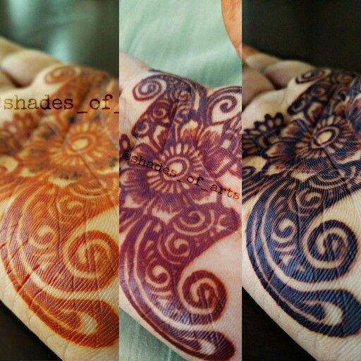 b35a0f3666fdd Henna Stains Progression!! Bright pumpkin to dark black stains in 36 hours  using 100% high quality natural henna powder.