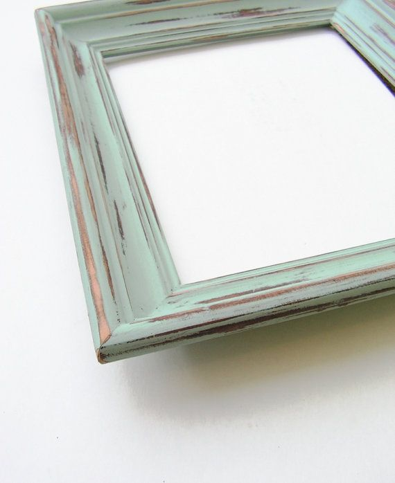 Super Rustic 11x14 Chunky Frame Wooden Home And Wedding Frame Pale Tiffany Blue Robins Egg Blue P Wedding Frames Beach Picture Frames Vintage Picture Frames