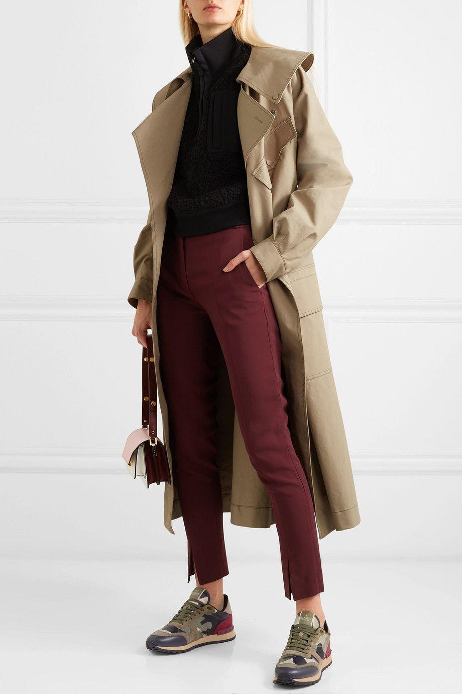 Valentino Garavani Rockrunner leather