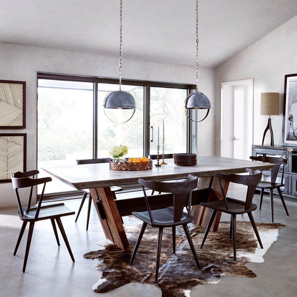 46 The Best Organic Dining Room Design Ideas Concrete Dining
