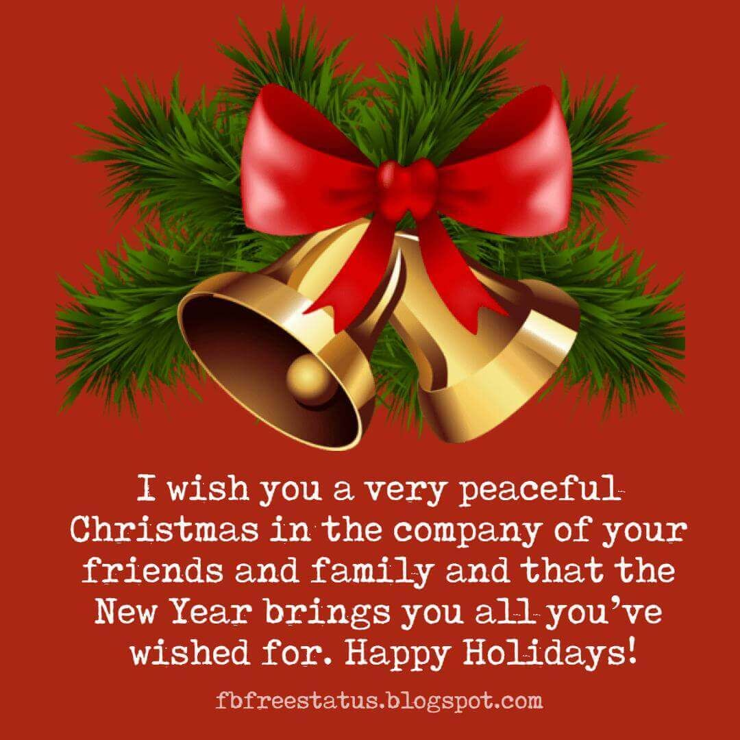 Merry Christmas And Happy New Year Wishes Messages