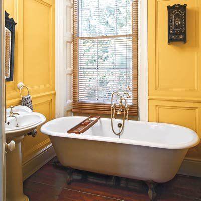 Painting Yellow Bathroom Decor Yellow Bathrooms Bathroom Colors