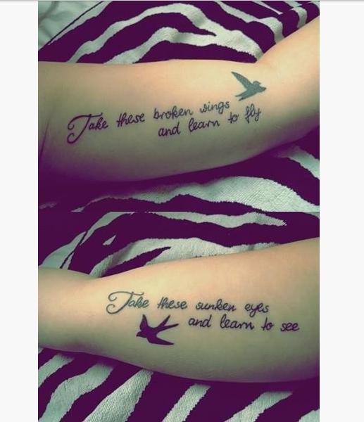 22 Best Friend Tattoo Quotes | Ink | Pinterest | Friend tattoos ...