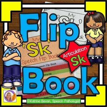Articulation and learning 's' blends is easy with this 'sk' flip book.  This product contains 2 x 8 pages flip books: the pages are packed with pictures and activities and can be used to make a flip book that will learning speech sounds hands on and interactive.Version 1- is a black and white flip book.