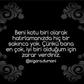 Sigara Dumani Kufur Tek Gercek Profil Instagram Photos Words Quotes Instagram