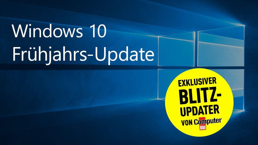 Holen Sie Sich Das Fruhlings Update Fur Windows 10 Schon Jetzt Wie Das Klappt Und Was Sie Beachten Mussen Zeigt Computer Bild Computer Bild Computer