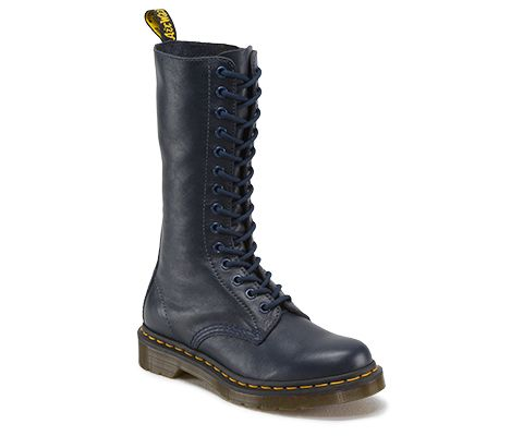 Dr martens 1b99 virginia leather high boots | Boots, Good