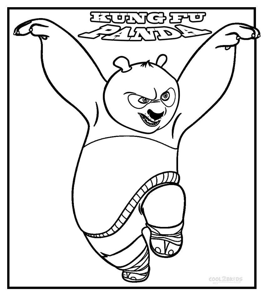 - Kung Fu Panda Coloring Pages Panda Coloring Pages, Dolphin