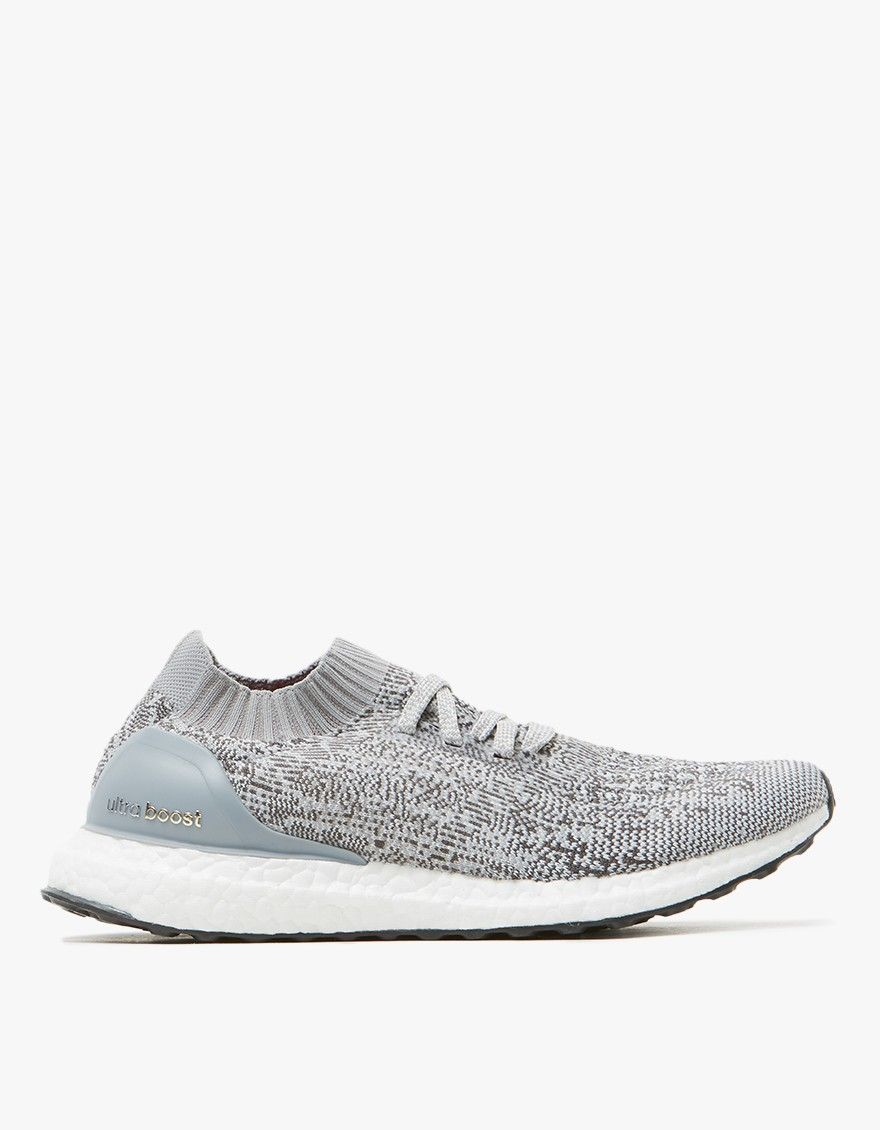 timeless design f2e4d 74e25 UltraBOOST Uncaged in Clear GreyCharcoal Solid